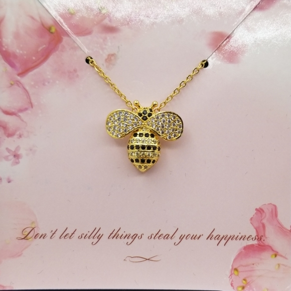 Anavia Jewelry - BUMBLE BEE ANAVIA NECKLACE